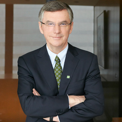 Image of Bob Dorrance Group Head, Wholesale Banking, TD Bank Group and Chairman, Chief Executive Officer and President, TD Securities