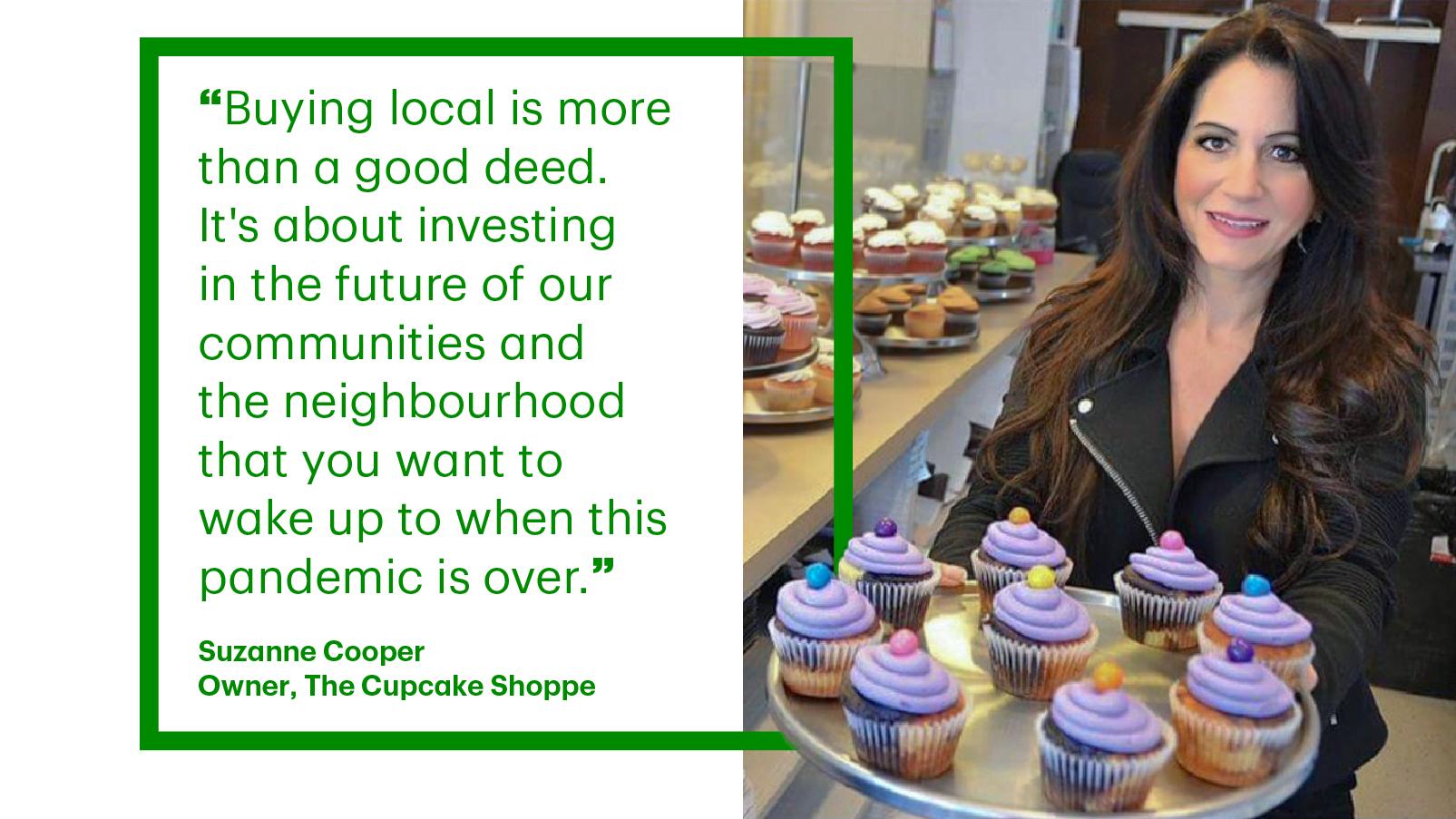 Suzanne Cooper The Cupcake Shoppe
