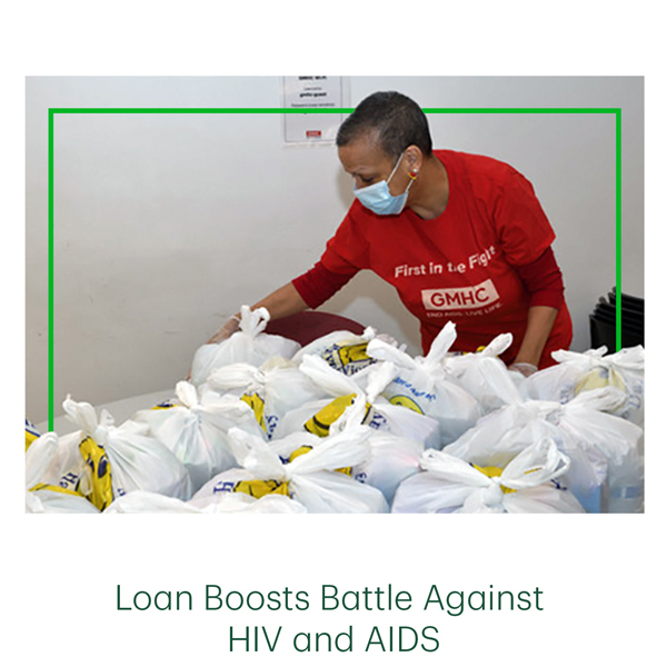 Loan Boosts Battle Against HIV and AIDS