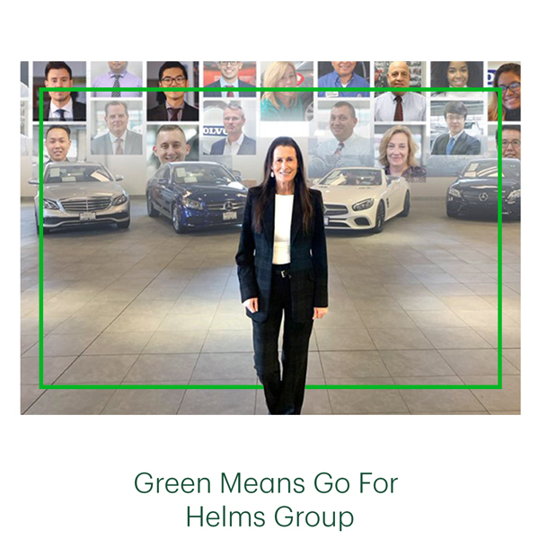 Green Means Go For Helms Group
