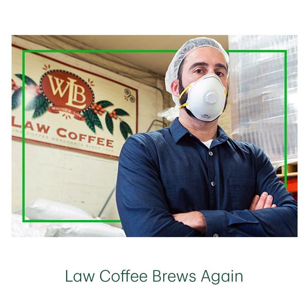 Law Coffee Brews Again