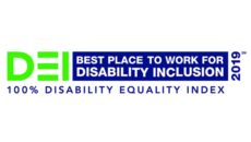 2019 Disability Equality Index logo