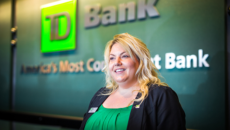 TD Bank woman teller