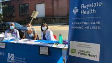 doctors and nurses at Baystate Health