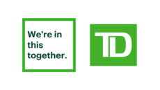 We're in this Together logo and TD shield