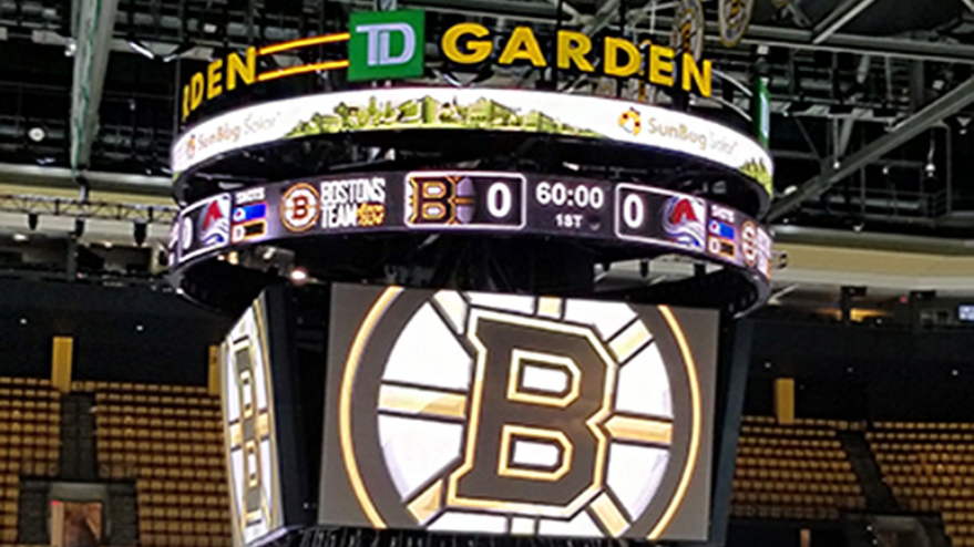 Small Business takeover at TD Garden