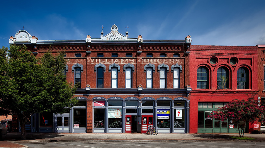 Small business buildings