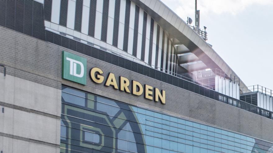 Boston Garden Stadium