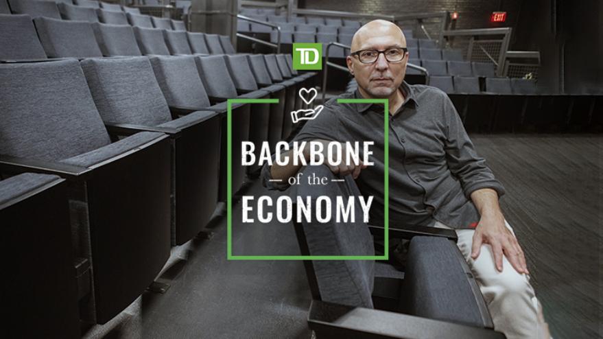 Backbone of the Economy logo