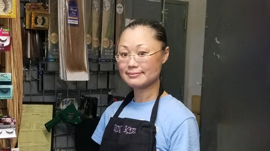 Jenny Kim, owner of Young Fashions