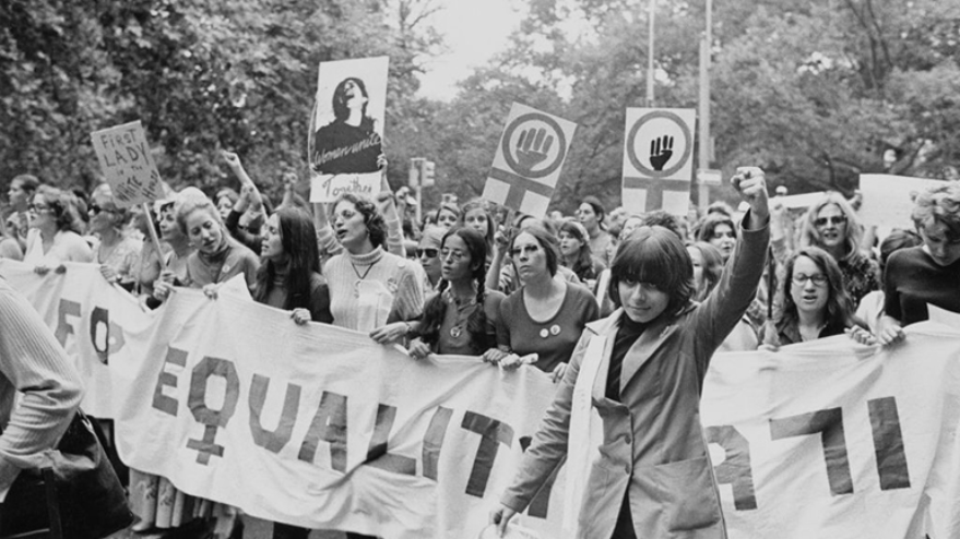Women's Equality protest in NY, 1971