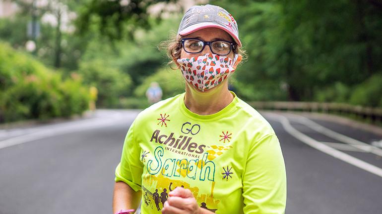 Sarah Heller running