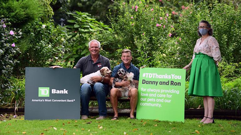 Danny Robertshaw and Ron Danta of Danny & Ron's Rescue