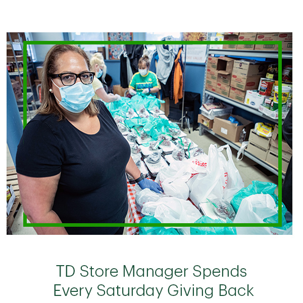 TD Store Managers Spends Every Saturday Giving Back